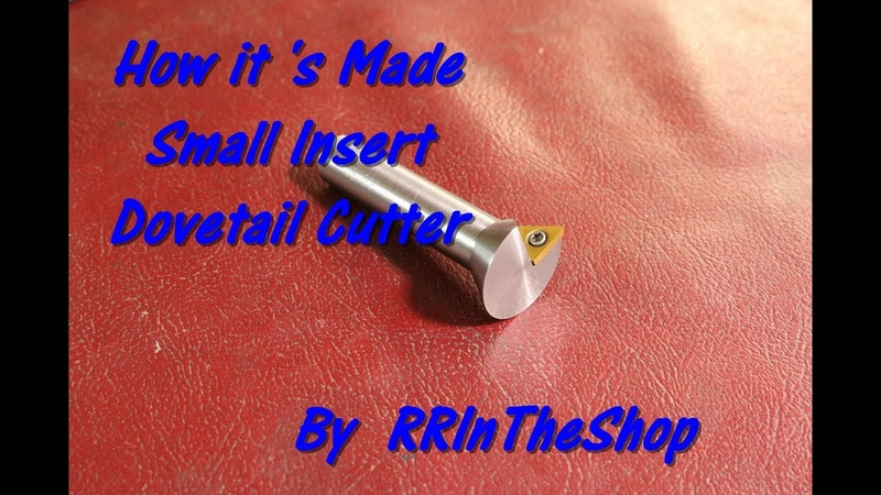 How it's Made the Small Dovetail Cutter