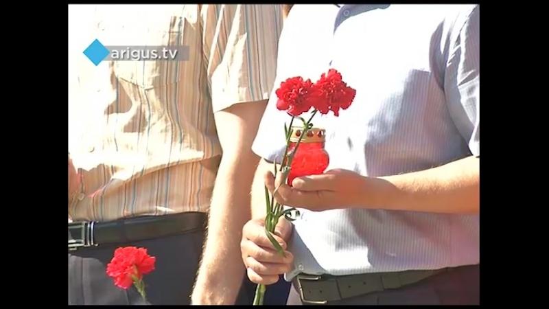 В Улан-Удэ зажгли «Свечу памяти»