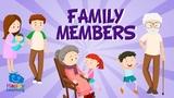 Miembros de la familia en ingle