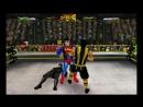 Бэтмен и Супермен против Скорпиона и Рептилии
