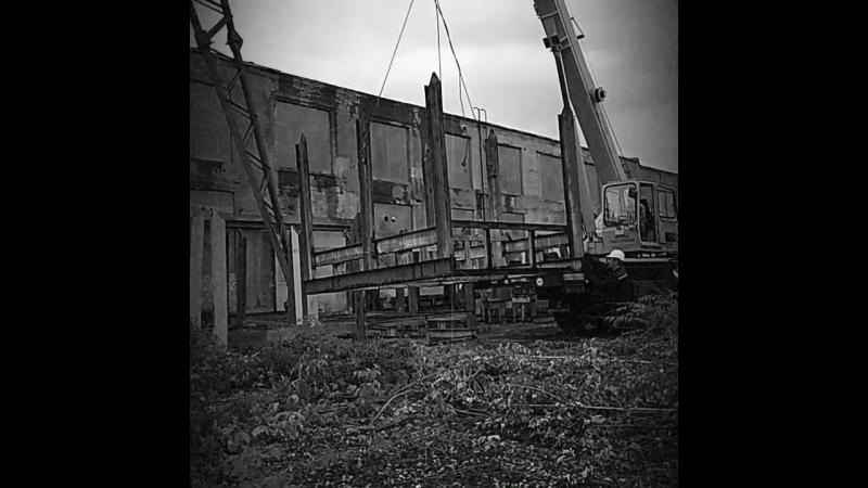 Демонтаж стелажей