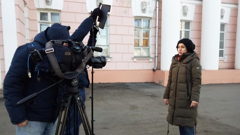 Сегодня в Вичугу приезжал федеральный телеканал ОТР снимать сюжет о городе