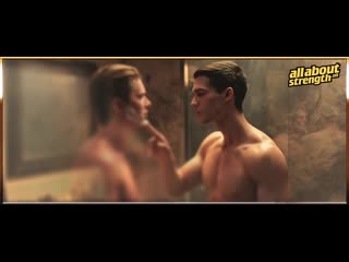 Steven Strait and Drew Van Acker Getting Closer and Closer (Gay Kiss Scene 1080p HD)