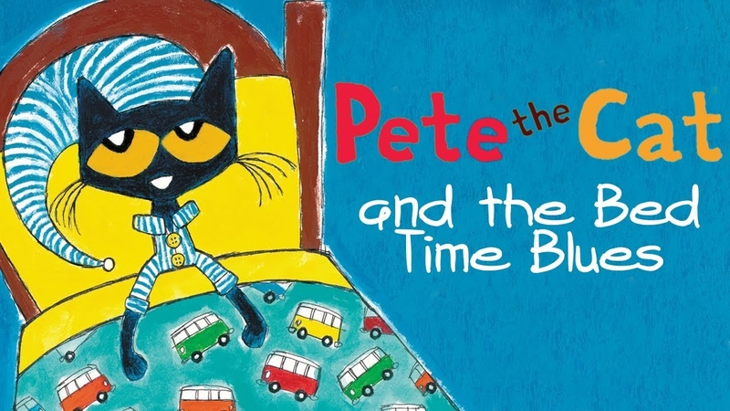 Pete the Cat and the Bed Time Blues Cartoon