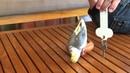 Достаем попугая ключами на Мальдивах 2014 Февраль, Frenzied parrot Attacking keys