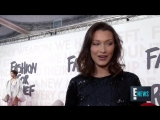 Bella Hadid Steps Out to Support Our Queen Naomi Campbell _ E! Live from the Red Carpet
