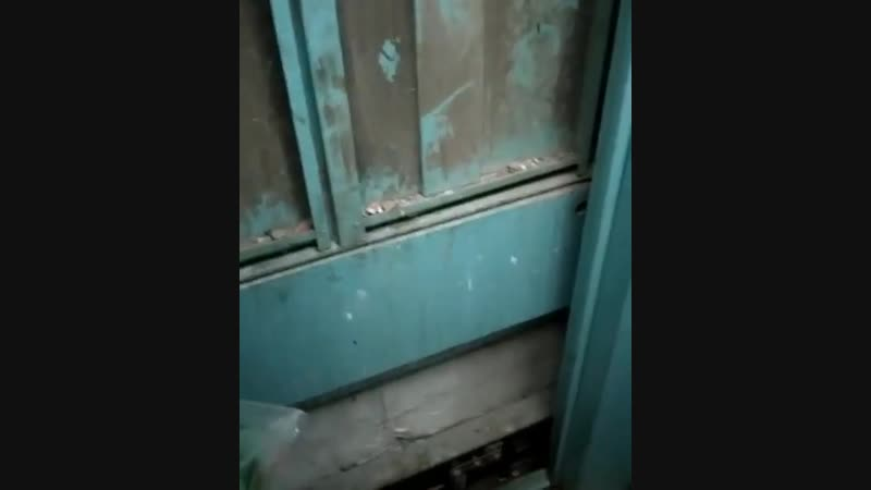 Жильцы дома в Астане выползают из лифта на четвереньках