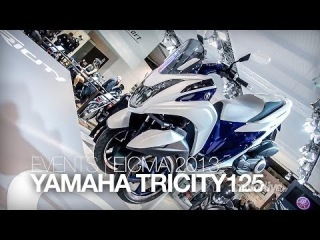 NOUVEAU 2014 | EICMA | YAMAHA TRICITY 125 2014