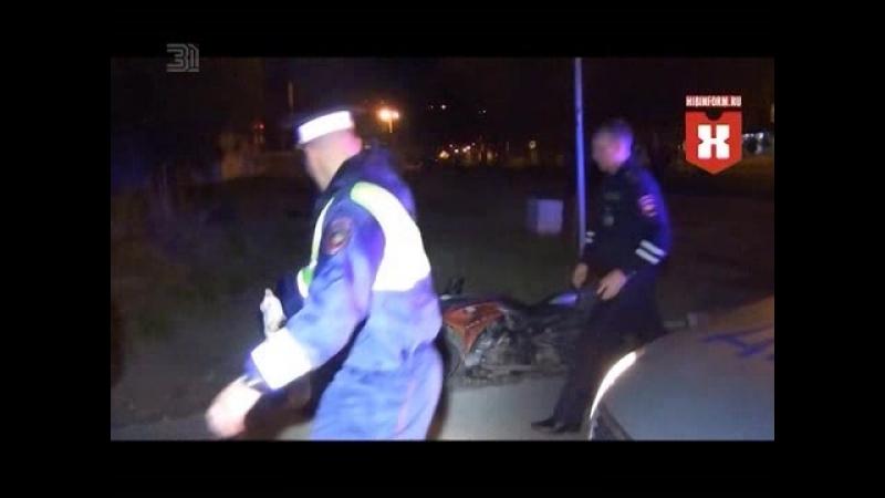 В Мурманской области задержание мотоциклиста переросло в драку.