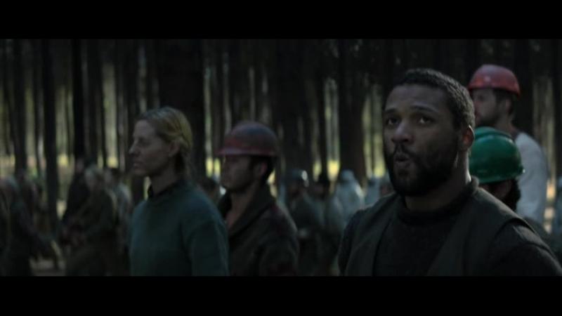 Восстание на лесопилке - Голодные игры: И вспыхнет пламя (2013)