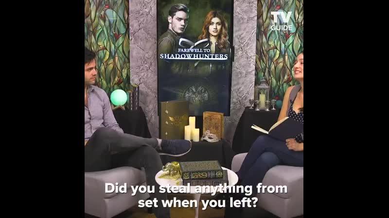Отрывок из интервью Мэтта для TvGuide