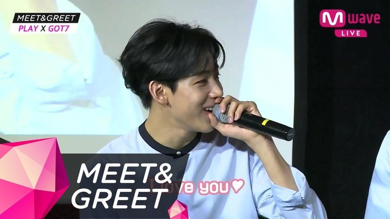 [MEETGREET] 'JINYOUNG I love you~♥' The crazy love confessions!
