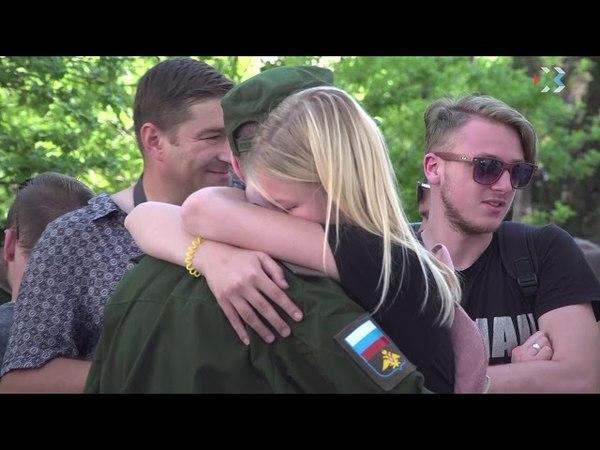 31 севастопольский новобранец пополнил ряды Воздушно-космических сил РФ