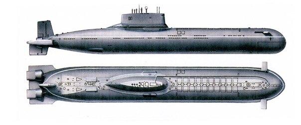 ТРПКСН 941 «Акула» - самая большая в мире атомная подводная лодка