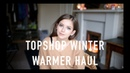 Topshop Winter Warmer Haul sunbeamsjess