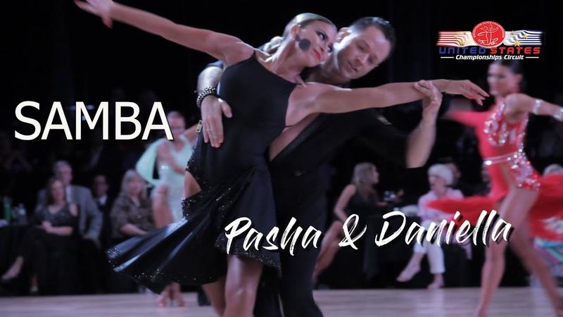 Pasha Pashkov and Daniella Karagach I United States Dance Championships 2018 I Samba