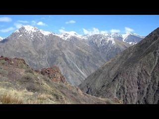 Перевал Туе-ашу на автодороге Бишкек-Ош, Киргизия.
