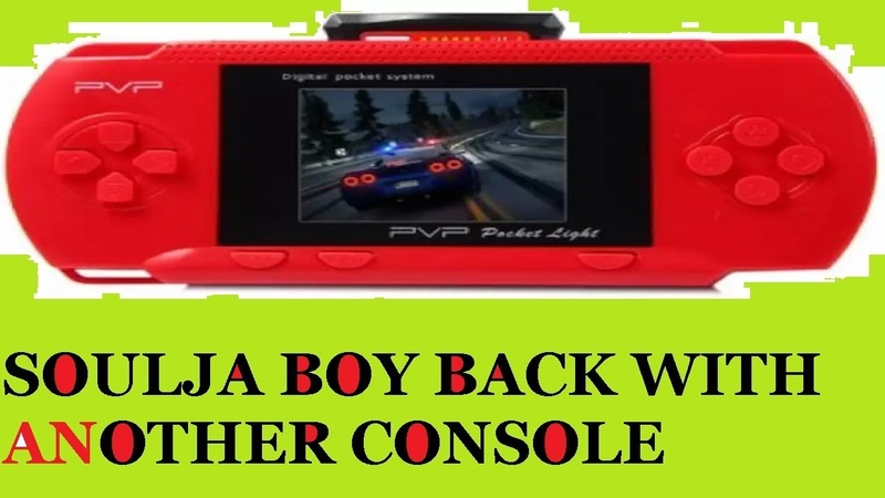 Soulja Boy Wants To Get Sued From Sony Now 2019 - Soulja Boys New Game Console Is Hilariously Bad