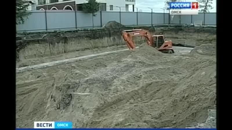 Уникальные находки в Омской крепости (ВЕСТИ-Омск, 10.10.2014)