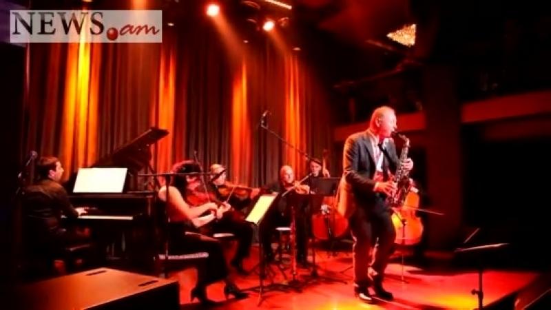 Концерт знаменитого саксофониста Федерико Мондельчи в ереванском клубе Mezzo