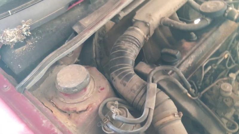 Разбор Volkswagen Passat b3 1.9 D 1Y