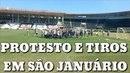 Torcedores invadem treino do Vasco em São Januário e abordam Zé Ricardo