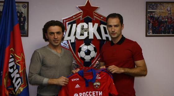 ЦСКА объявил о переходе Романа Широкова