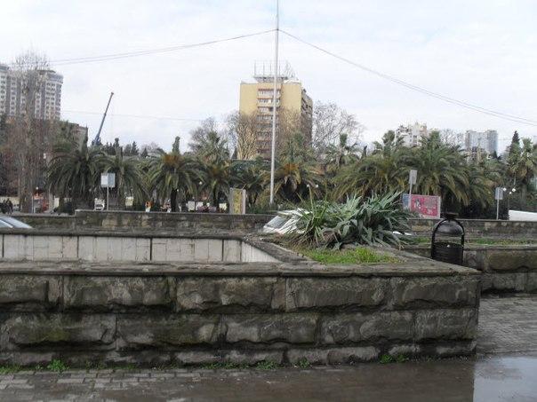Подземный переход через улицу Горького Сочи
