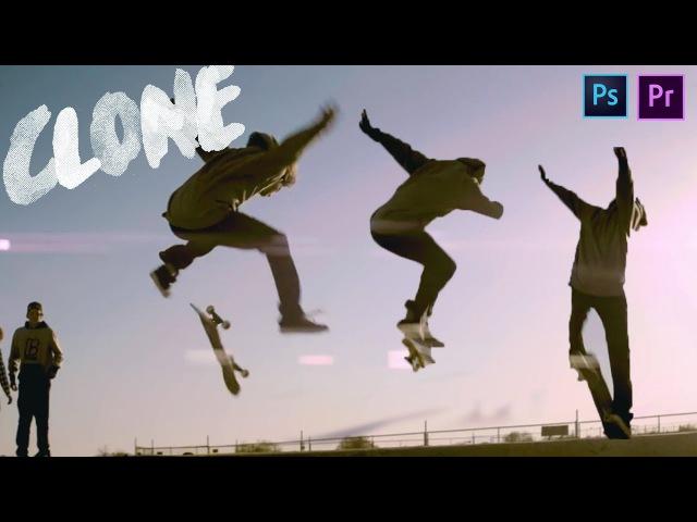 Freeze Frame Clone Effect Premiere Pro CC!