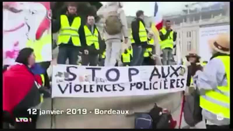 Gilet Jaune Lyon - Reportage de Salut Les Terriens sur les Violences Policières.mp4