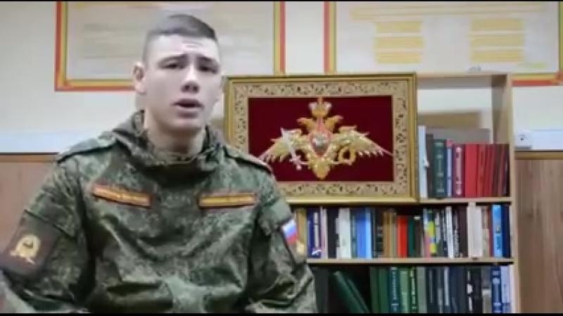 Достойный ответ курсантов Кремлевцев ульяновским курсантам