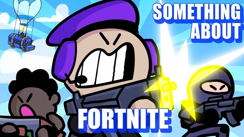 Something About Fortnite Battle Royale ANIMATED (Loud Sound Warning) 🚌