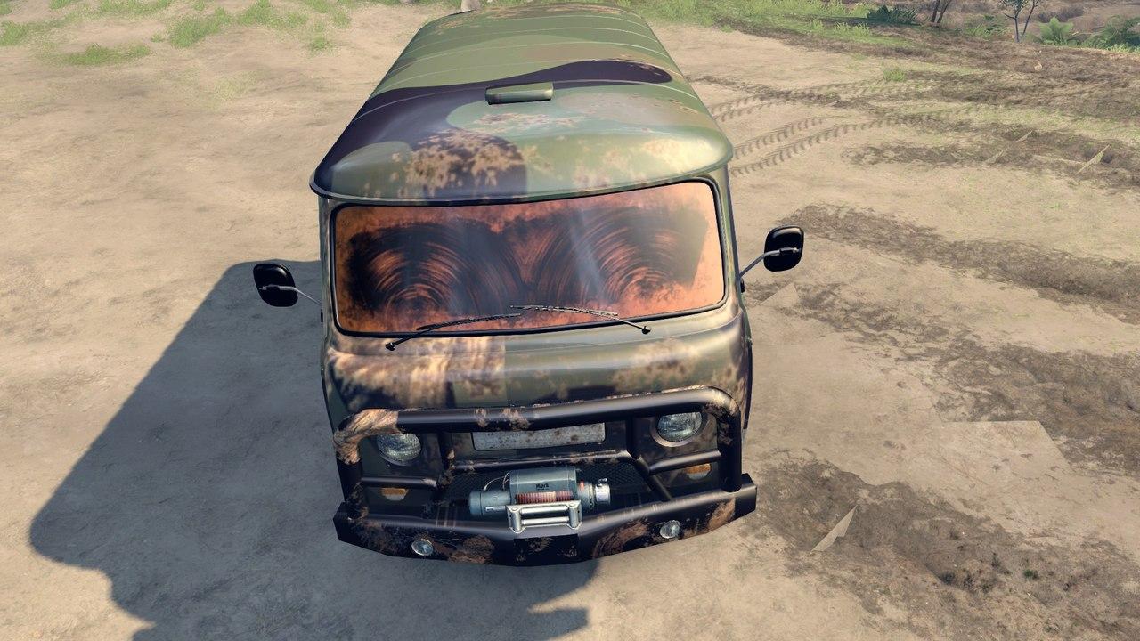 "УАЗ 2206 ""Буханка"" для Spintires - Скриншот 1"
