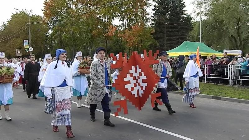 Верхнедвинск встретил гостей и участников областного фестиваля-ярмарки тружеников села «Дожинки-2018»