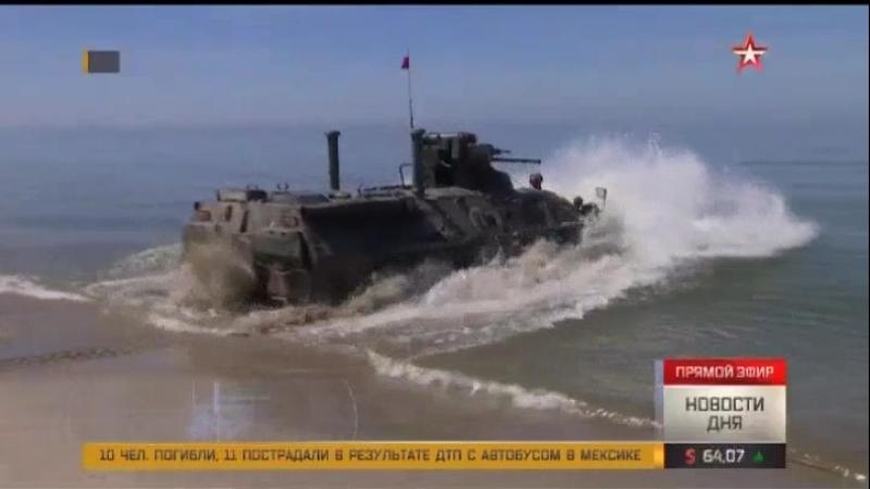 Две роты морских пехотинцев на Камчатке получили звание ударных