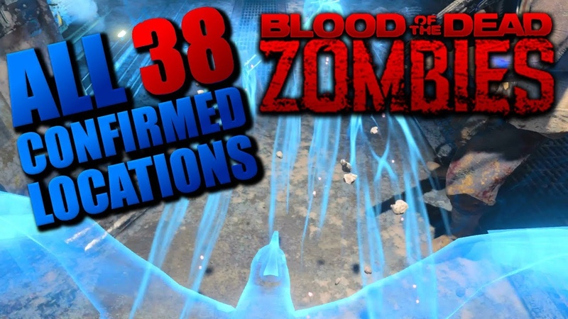ALL 38 CONFIRMED BIRD LOCATIONS ''BLOOD OF THE DEAD'' ZOMBIES