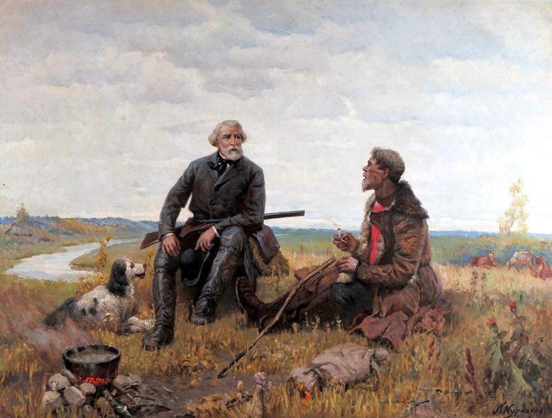 В галерее на Новопесчаной отметят юбилей Тургенева