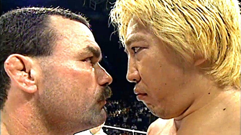 MMA LEGEND VS JAPANESE GiANT - SUPER FiGHT WiTHOUT RULES