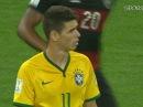 Футбол. ЧМ-2014. Бразилия - Германия. 1:7. Гол Оскара