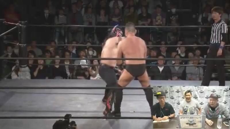 Buffalo, Takatoshi Matsumoto vs. Takuya Kai, SUSHI (Hagure IGF - International Launching Business)
