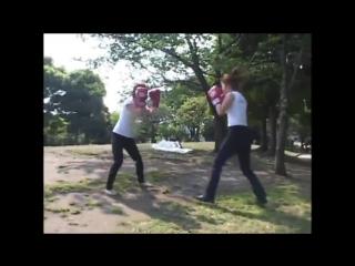 Japan Girl Boxing