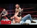 Alister Black Vs Elias Full Match - WWE Raw Highlights 18th Febraury 2019