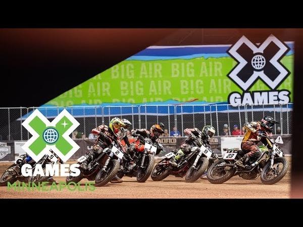 Harley Davidson Moto X Flat Track Racing FULL BROADCAST X Games Minneapolis 2018