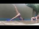 ABC gymnastics challenge with Liv Water Edition💗