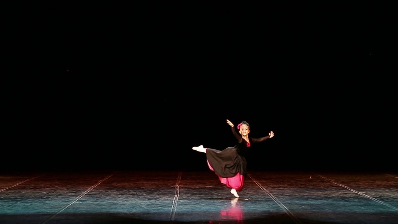 Анастасия Севенард 6 лет . Тарантелла из балета « Анюта» В.А. Гаврилина