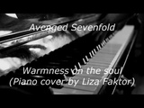 Avenged Sevenfold - Warmness On The Soul (piano cover)