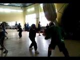 открытые бои в ТОЛПАР (ножевой бой (фехтование на ножах)
