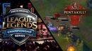 Altec Lucian pentakill [NA LCS 2018 Summer] | League of Legends