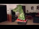 Оптическая иллюзия зырющий дракон