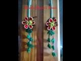 91 - Flor Tecido Cetim- Puxadores para armarios / Cristaleiras ! - DIY - kanzashi / サテン花 / 簪
